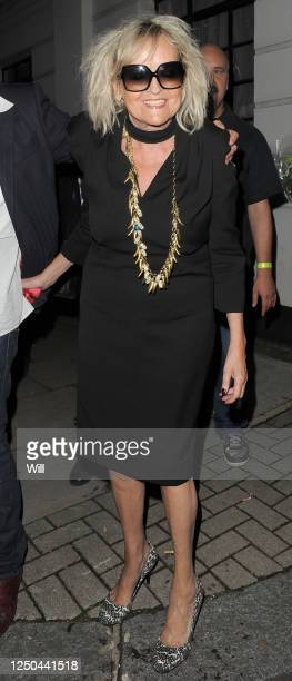 Annie Nightingale leaves the BBC Maida Vale studios, after a party celebrating being on the radio for 40 years on September 9, 2010 in London,...