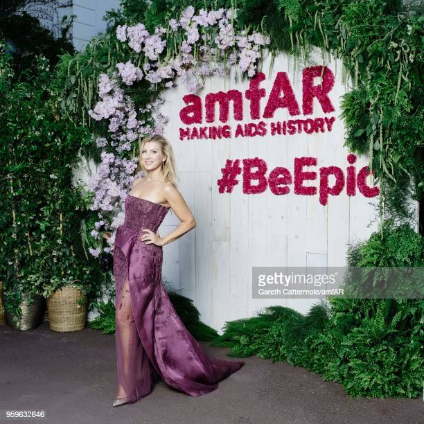 Annie Novak attends the amfAR Gala Cannes 2018 Studio at Hotel du CapEdenRoc on May 17 2018 in Cap d'Antibes France