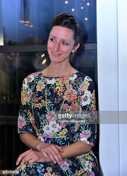 Annie Novak attends the Garden Collage and Phaidon Press Host A Botany Salon on October 13 2016 in Brooklyn New York