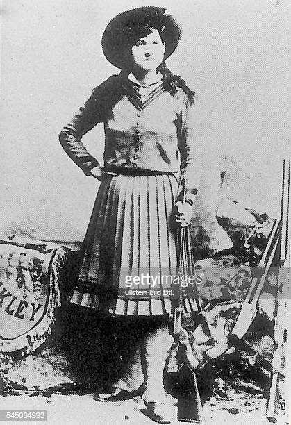 Annie Oakley *13081860 Schaustellerin Kunstschützin USA Scharfschützin in der WildWestShow von Buffalo Bill undatiert