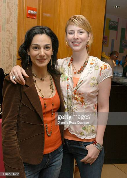 Annie Parisse and Diane Neal during Lucky/Cargo Club Day 3 at The Ritz Carlton Central Park South in New York City New York United States