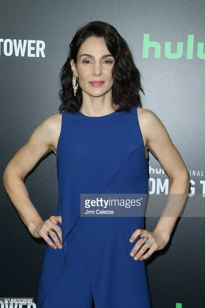 Annie Parisse attend Hulu's 'The Looming Tower' Series Premiere at The Paris Theatre on February 15 2018 in New York City