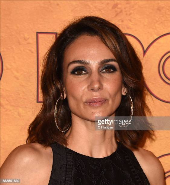 Annie Parisse attends HBO's Post Emmy Awards Reception at The Plaza at the Pacific Design Center on September 17 2017 in Los Angeles California