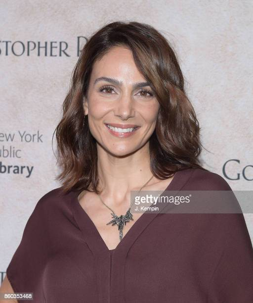 Annie Parisse attends the 'Good Bye Christopher Robin' New York Special Screening at The New York Public Library on October 11 2017 in New York City