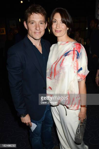 Annie Perks and Ben Shephard attend the press night for Jesus Christ Superstar the arena tour at The O2 Arena on September 21 2012 in London England