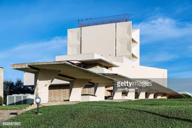 Annie Pfeiffer Chapel designed by Frank Loyd Wright for Florida Southern College