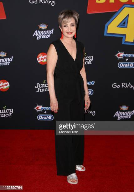 """Annie Potts arrives to the Los Angeles premiere of Disney and Pixar's """"Toy Story 4"""" held on June 11, 2019 in Los Angeles, California."""