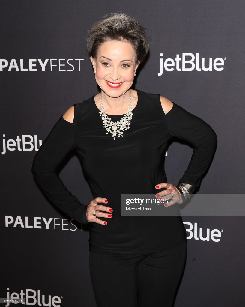 Annie Potts attends the 2018 PaleyFest Los Angeles - CBS's ... Annie Potts 2018