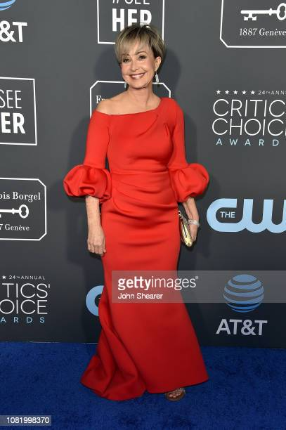 Annie Potts attends the 24th Annual Critics' Choice Awards at Barker Hangar on January 13 2019 in Santa Monica California