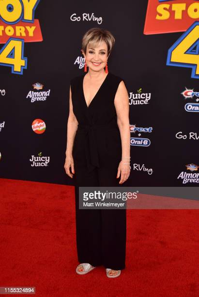 Annie Potts attends the premiere of Disney and Pixar's Toy Story 4 on June 11 2019 in Los Angeles California