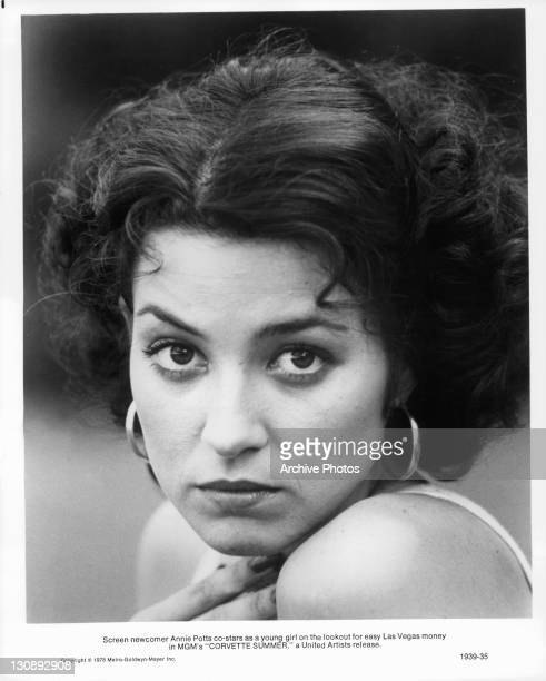 Annie Potts costars as a young girl on the lookout for easy Las Vegas money in a scene from the film 'Corvette Summer' 1978