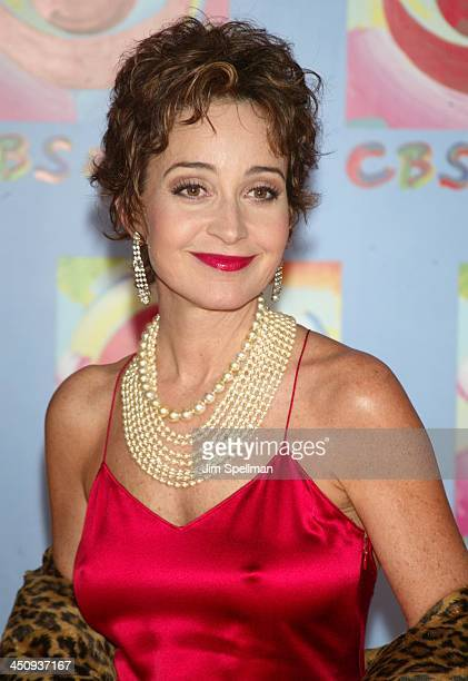 Annie Potts during CBS at 75 at Hammerstein Ballroom in New York City New York United States