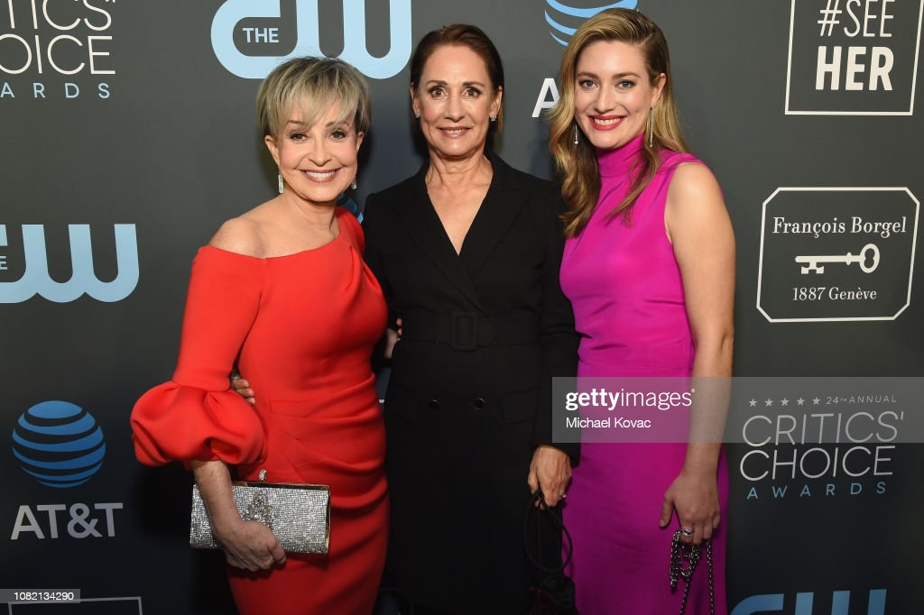 Annie Potts Laurie Metcalf And Zoe Perry Attend The 24th