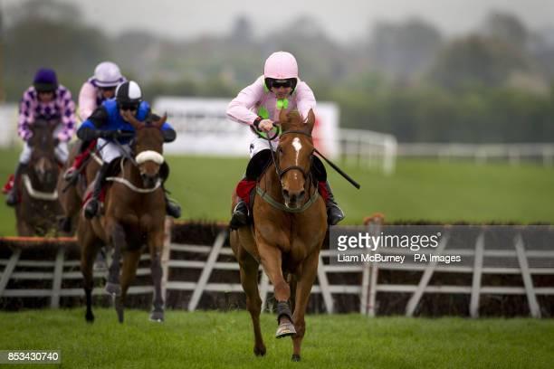 Annie Power ridden by Ruby Walsh wins Arctic Fire ridden by Ruby Walsh wins The Irish Stallion Farms European Breeders Fund Mares Champion Hurdle...