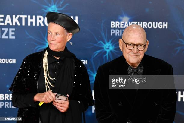 Annie Pressman and Ed Pressman attend the 2020 Breakthrough Prize Red Carpet at NASA Ames Research Center on November 03 2019 in Mountain View...