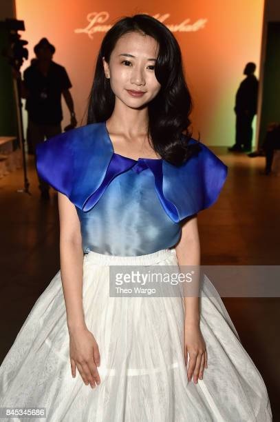 Annie Q attends Leanne Marshall fashion show during New York Fashion Week The Shows at Gallery 2 Skylight Clarkson Sq on September 10 2017 in New...