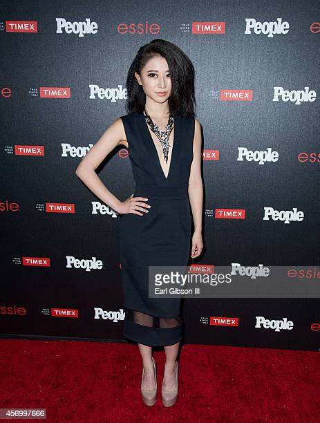 Annie Q attends People Magazine 'Ones To Watch' Party at The Line on October 9 2014 in Los Angeles California