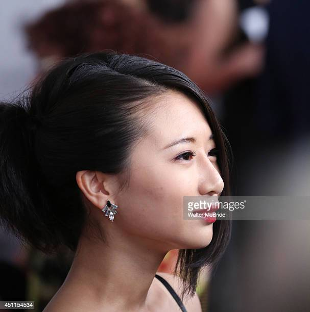 Annie Q attends 'The Leftovers' premiere at NYU Skirball Center on June 23 2014 in New York City