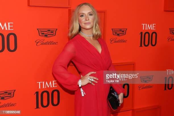 Annie Starke attends the 2019 Time 100 Gala at Frederick P Rose Hall Jazz at Lincoln Center on April 23 2019 in New York City