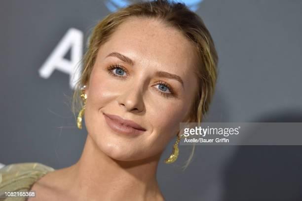 Annie Starke attends the 24th annual Critics' Choice Awards at Barker Hangar on January 13 2019 in Santa Monica California