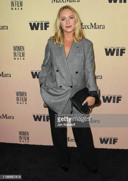 Annie Starke attends Women In Film Annual Gala 2019 Presented By Max Mara at The Beverly Hilton Hotel on June 12 2019 in Beverly Hills California