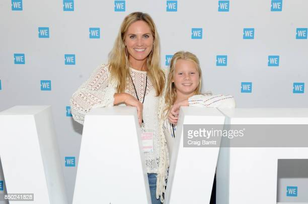 Annie Taube and Annabelle Taube attend the WE Day UN at The Theater at Madison Square Garden on September 20 2017 in New York City