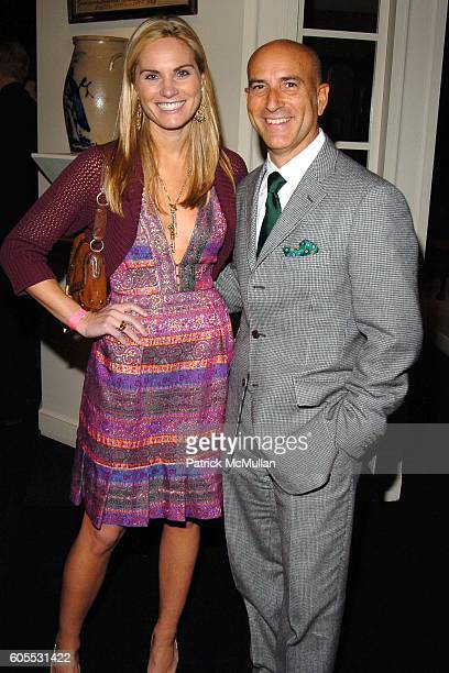 Annie Taube and Gordon Thompson attend The 52nd Annual WINTER ANTIQUES SHOW Young Collector's Night CoSponsored by COACH at The Seventh Regiment...