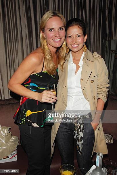 Annie Taube and Lottie Oakley attend HAVAIANAS and VOGUE host ROSA CHA AfterParty at 1 OAK NYC on September 6 2008 in New York City