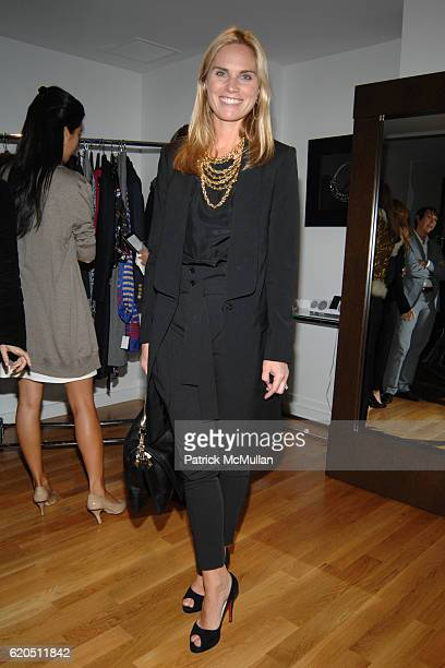 Annie Taube attends ASMALLWORLD and NETAPORTERCOM hosts a Trunk Show at 333 West 14th Street on September 24 2008 in New York City