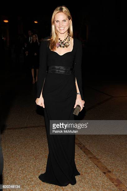 Annie Taube attends CAROLINA HERRERA 'Gilded Pleasure' APOLLO CIRCLE Benefit at The Metropolitan Museum of Art on November 12 2008 in New York City