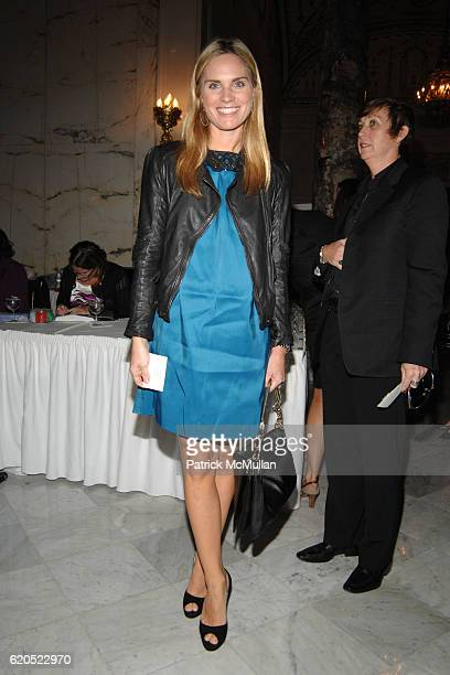 Annie Taube attends Madison Square Boys Girls Club Purses Pursenalities Luncheon at The Metropolitan Club on September 23 2008 in New York City