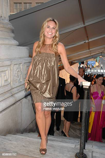 Annie Taube attends The 2007 CFDA Fashion Awards at The New York Public Library on June 4 2007 in New York City