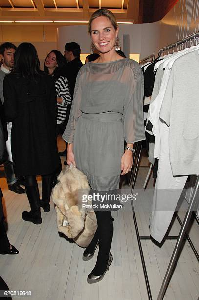 Annie Taube attends TSE celebrates its flagship SoHo store opening hosted by JULIANNE Moore at TSE NYC on March 11 2008