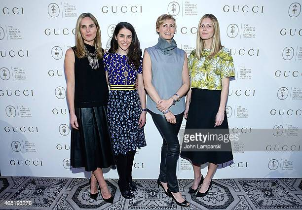 Annie Taube Erica Silverman Jenny Galluzzo and Ferebee Taube attend 24th Annual Bunny Hop at 583 Park Avenue on March 3 2015 in New York City