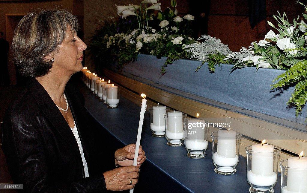 Annie Viera De Mello, widow of late UN's : News Photo