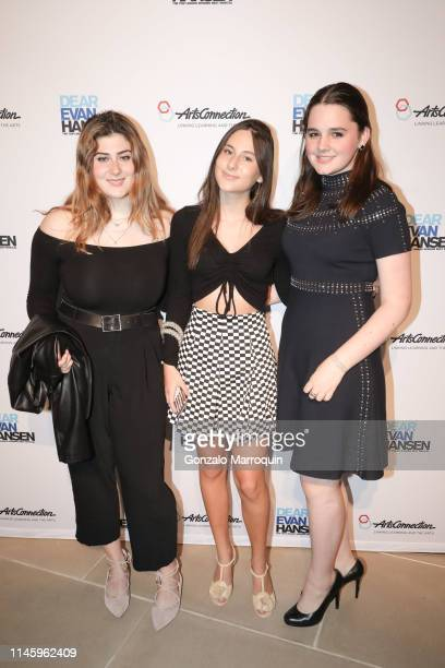 Annie Wallach Eden Plepler and Isabel Mignone during the ArtsConnection 2019 Benefit Celebration at IAC Building on April 29 2019 in New York City