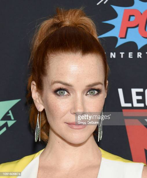 Annie Wersching arrives at Excelsior A Celebration Of The Amazing Fantastic Incredible And Uncanny Life Of Stan Lee at TCL Chinese Theatre on January...