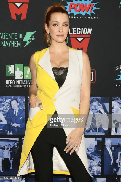 Annie Wersching arrives for Excelsior A Celebration of The Amazing Fantastic Incredible and Uncanny Life Of Stan Lee at TCL Chinese Theatre on...