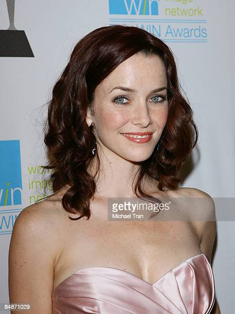 Annie Wersching arrives to attend the 2009 WIN Awards held at Avalon on February 17 2009 in Hollywood California