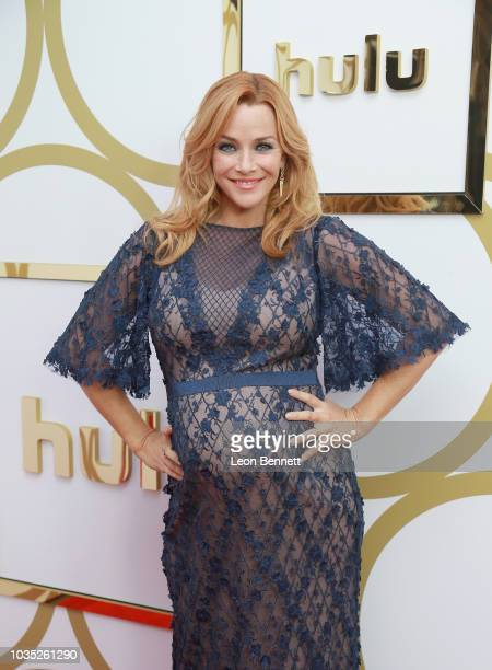 Annie Wersching attends Hulu's 2018 Emmy Party at Nomad Hotel Los Angeles on September 17 2018 in Los Angeles California