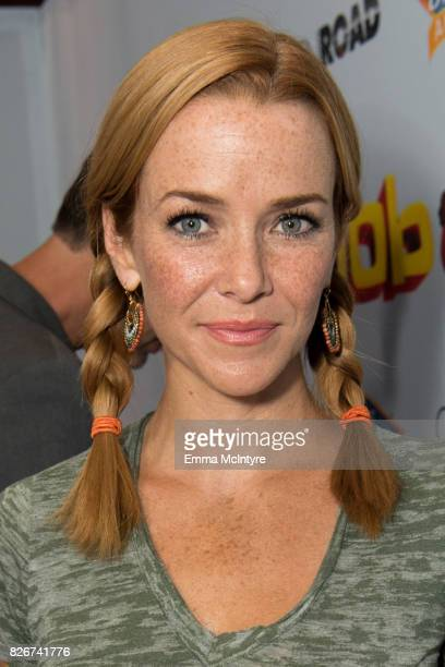 Annie Wersching attends the premiere of Open Road Films' 'The Nut Job 2: Nutty by Nature' at Regal Cinemas L.A. Live on August 5, 2017 in Los...