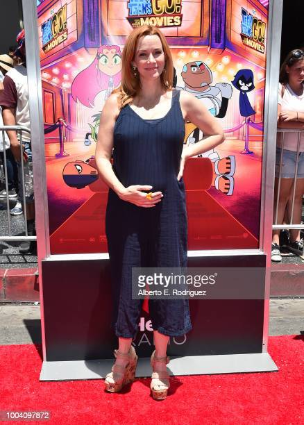 Annie Wersching attends the premiere of Warner Bros Animation's 'Teen Titans Go To The Movies' at TCL Chinese Theatre IMAX on July 22 2018 in...