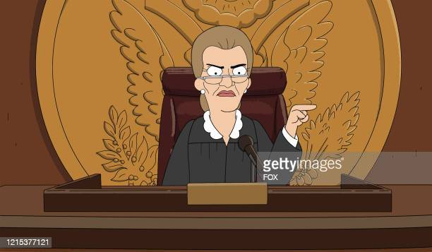 Annies court confrontation with a rich resident leads to her getting her own public access court show in the Judge Annie episode of DUNCANVILLE...