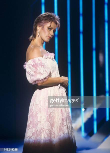 Anni-Frid Lyngstad - former member of swedish popgroup ABBA - in September 1982.