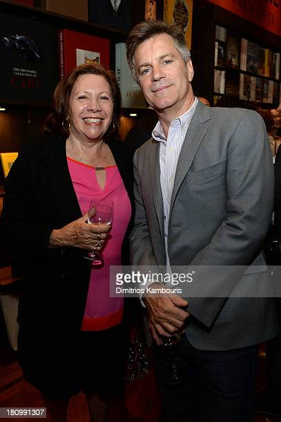 Annik Klein and Jean Claude Huon attend ASSOULINE Martine and Prosper Assouline host a book signing for Ketty PucciSisti Maisonrouge's The Luxury...