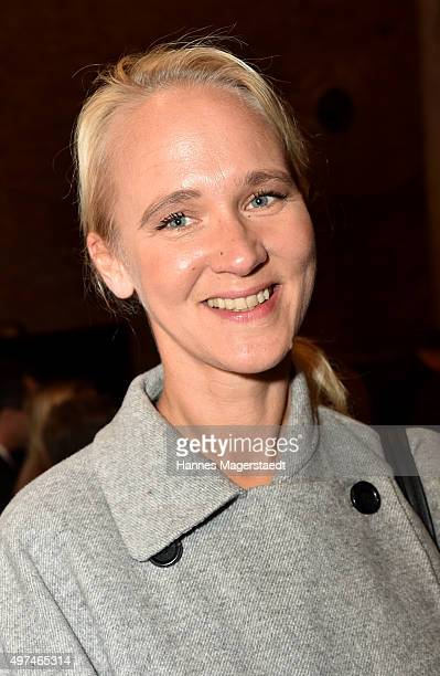 Annik Wecker during the 'Prix Courage Award 2015' at Allerheiligen Hofkirche on November 16 2015 in Munich Germany