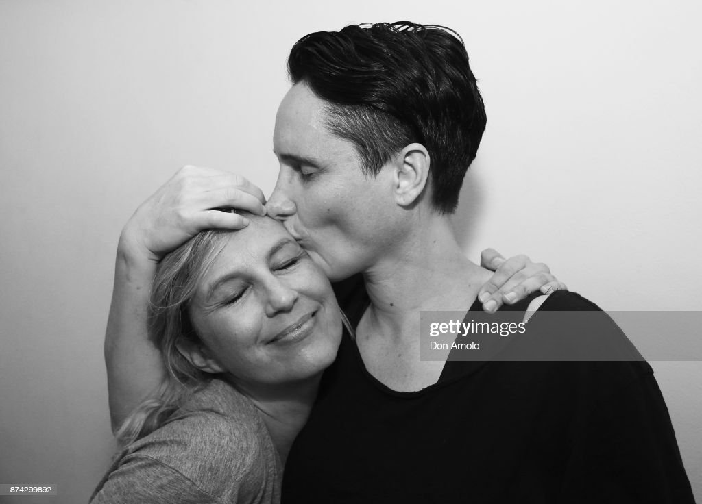 Annika and Dray celebrate the result announcement at the Lord Roberts Hotel in Darlinghurst on November 15, 2017 in Sydney, Australia. Australians have voted for marriage laws to be changed to allow same-sex marriage, with the Yes vote claiming 61.6% to to 38.4% for No vote. Despite the Yes victory, the outcome of Australian Marriage Law Postal Survey is not binding, and the process to change current laws will move to the Australian Parliament in Canberra.
