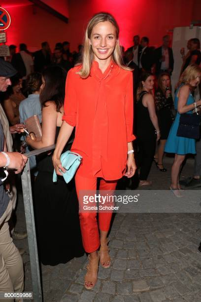 Annika Blendl during the 'Audi Director's cut' Party during the Munich film festival at Praterinsel on June 24 2017 in Munich Germany