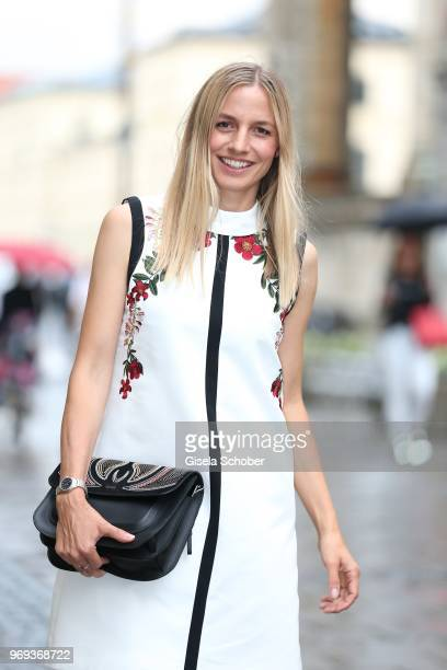 Annika Blendl during the Bree 'Urban Showroom' store opening on June 7 2018 in Munich Germany The Bree 'Urban Showroom' is a popup store open from...