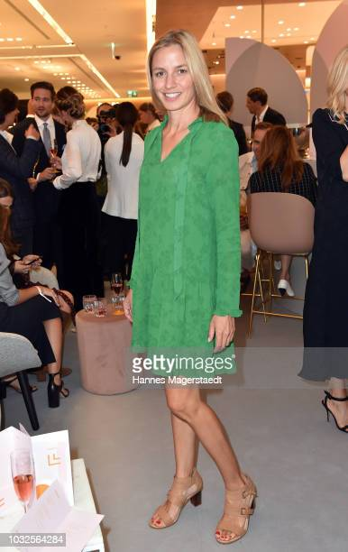 Annika Blendl during the grand opening of the new Oberpollinger ground floor 'Muenchens Neue Prachtmeile' at Oberpollinger on September 12 2018 in...